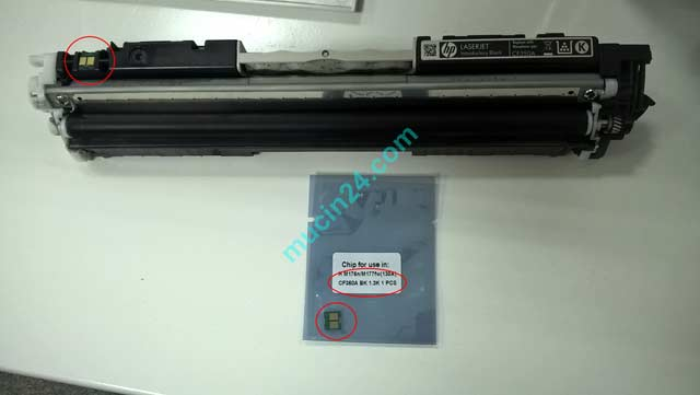 do muc may in HP Color Laserjet Pro MFP M177fw M176fw 14 - Đổ Mực Máy In Màu HP Color Laserjet Pro MFP M177fw-M176fw