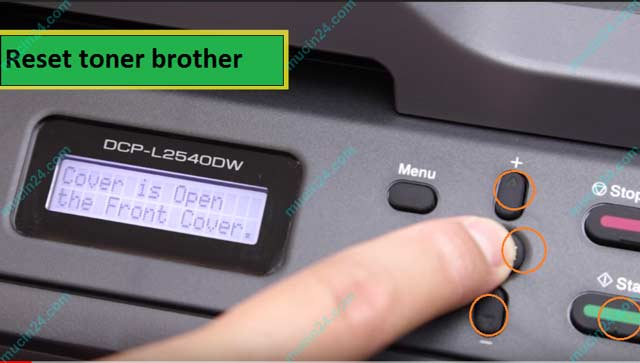 Máy In Báo Lỗi Replace Toner - Toner low - Replace Drum - Dịch Vụ Đổ