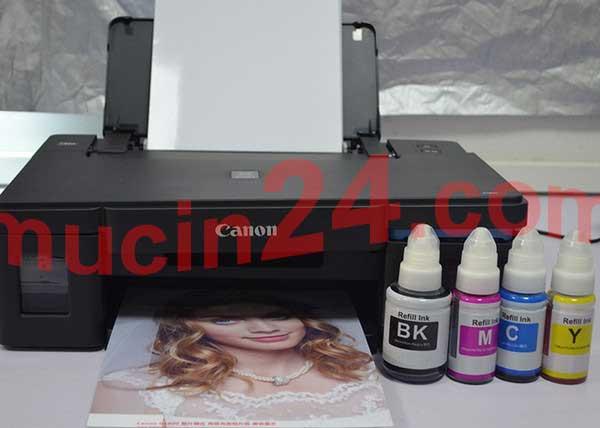 do muc may in canon g1010 g2010 g3010 7 - Đổ Mực Máy In Canon PIXMA G1010- G2010- G3010 | Đổ Mực Máy In Màu
