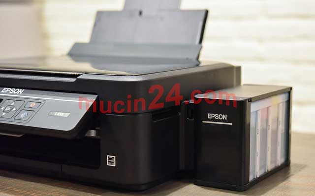 do muc may in epson L300 L310 L100 L110 L365 L385 1 - Đổ Mực Máy In Epson L310 - L300 - L210 - L200 - L110 - L100 - L360 - L365 - L385