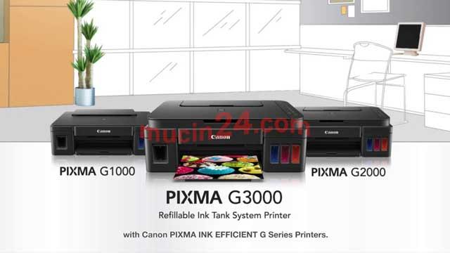 do muc may in canon g1000 g2000 g3000 12 - Đổ Mực Máy In Canon Pixma G1000- G2000- G3000 | Nạp Mực Máy In Màu Canon