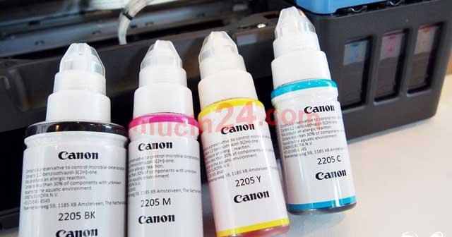do muc may in canon g1000 g2000 g3000 9 - Đổ Mực Máy In Canon Pixma G1000- G2000- G3000 | Nạp Mực Máy In Màu Canon