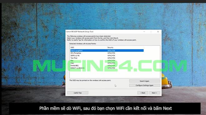 cai dat in wifi cho canon lbp 6030w 14 - CÀI ĐẶT IN WIFI CHO MÁY IN CANON LBP 6030W