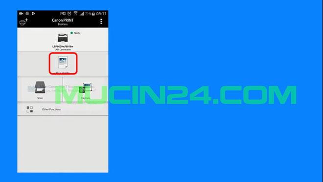 cai dat in wifi cho canon lbp 6030w 26 - CÀI ĐẶT IN WIFI CHO MÁY IN CANON LBP 6030W