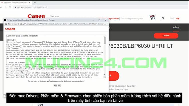 cai dat in wifi cho canon lbp 6030w 4 - CÀI ĐẶT IN WIFI CHO MÁY IN CANON LBP 6030W