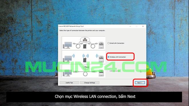 cai dat in wifi cho canon lbp 6030w 9 - CÀI ĐẶT IN WIFI CHO MÁY IN CANON LBP 6030W