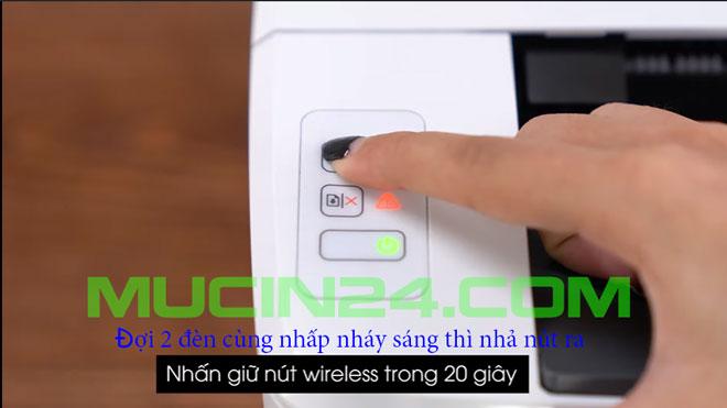 cai wifi cho may in in qua wifi 22 - Cài Đặt In Wifi Cho Máy In HP Jet Pro M15W- M28W