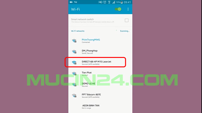cai wifi cho may in in qua wifi 28 - Cài Đặt In Wifi Cho Máy In HP Jet Pro M15W- M28W