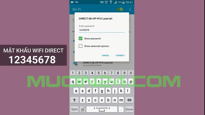 cai wifi cho may in in qua wifi 31 - Cài Đặt In Wifi Cho Máy In HP Jet Pro M15W- M28W