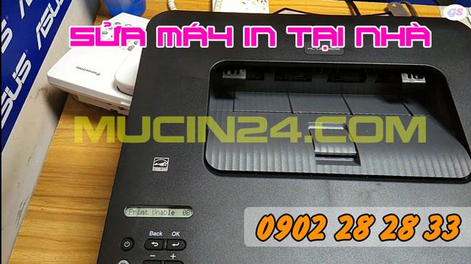 may in bao loi print unable 0B 10 - Sửa Máy In Brother Báo Lỗi print unable 0B